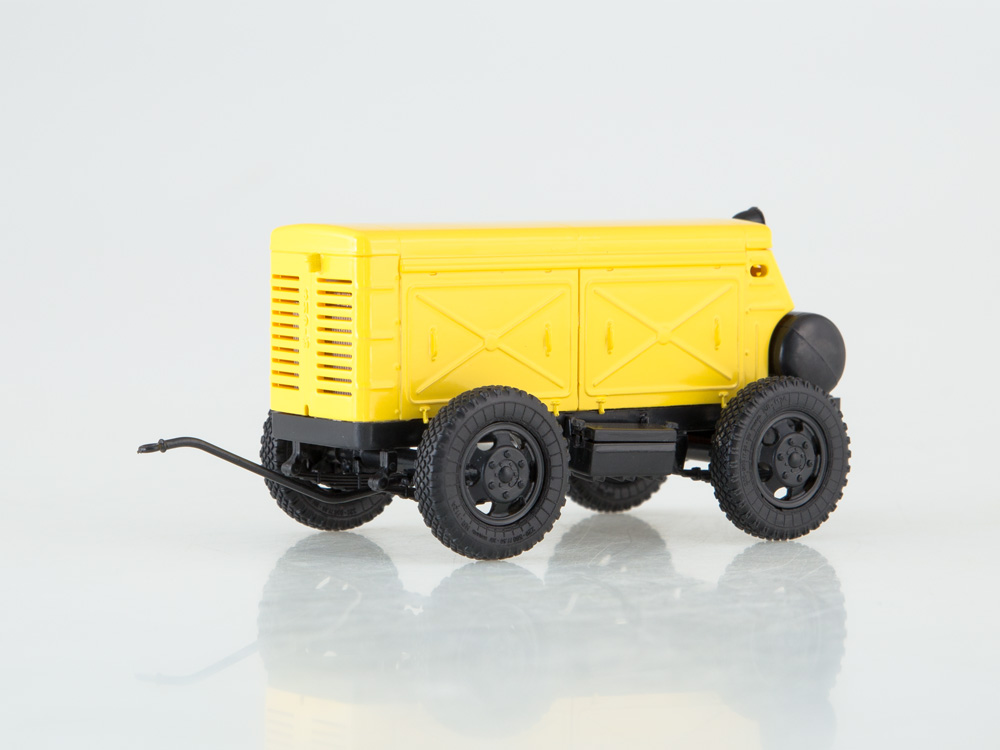 Mobile Air Compressor >> Details About Zif 55 Ussr Mobile Air Compressor Station Avtoistoria 1 43 102309
