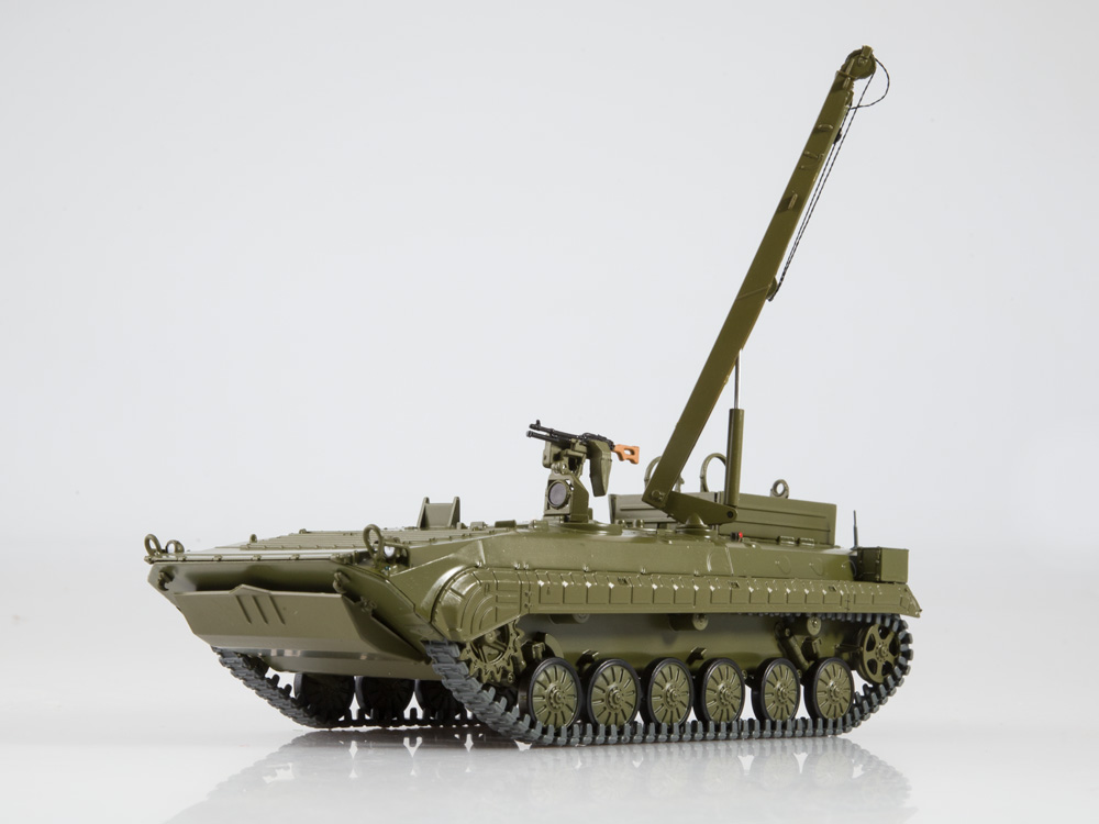 Details about  /Nashi tanki NT050 1//43 BREM-2 Soviet Armoured recovery vehicle     1985