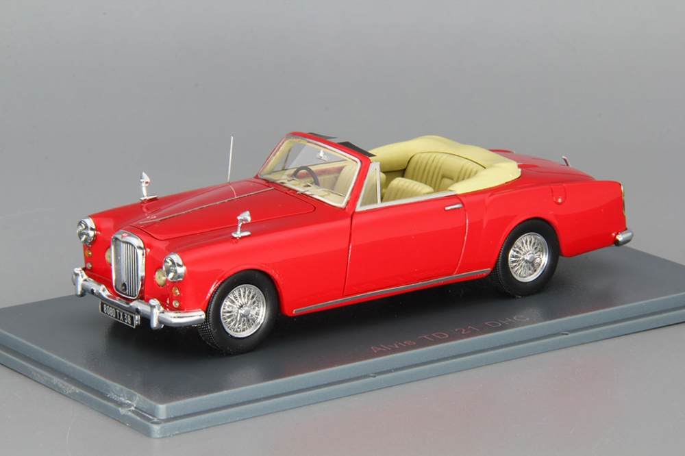1 43 ConGrünible ALVIS TD 21 DHC   Neo scale Modellls  NEW OVP