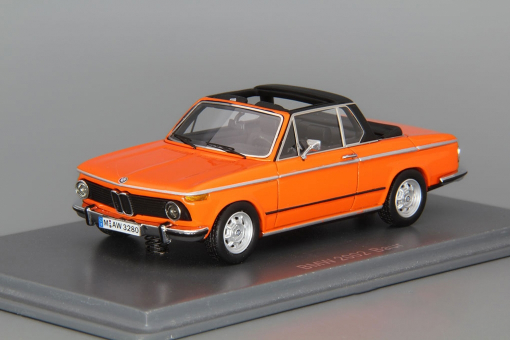 Details About Bmw 2002 Baur Cabriolet Neo Scale Models 143 Neo43280