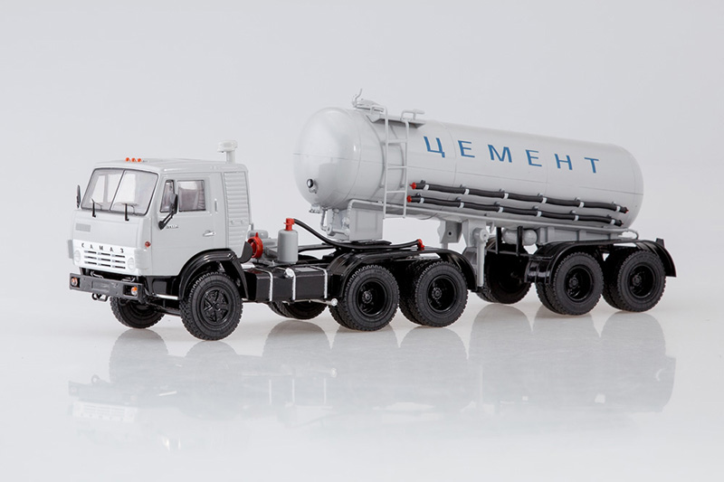 Kamaz 54112 + TC-11 Ciment Citerne semi-remorque 1 43 Start Scale Models SSM7034
