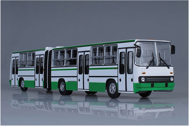 1 43 IKARUS 280.64 Moscow City Articulated Bus sova1 Soviet Bus